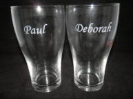engraved personalised glasses