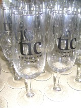 printed champagne glasses